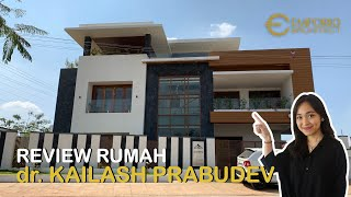 Video Construction Results dr. Kailash Prabudev Modern House 3 Floors Design - Bangalore, India