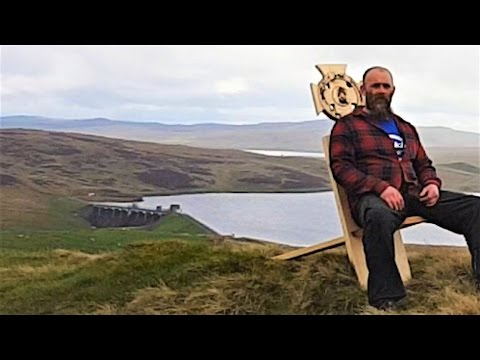 Woodworking & Router Projects - Celtic Knot - Viking Birthing Chair