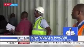 Maafisa wa KRA wanasa magari matatu ya kifahari kwenye bandari ya Mombasa