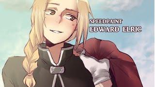 FULLMETAL ALCHEMIST - Edward Elric Speedpaint [SAI]