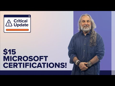 Discounted Microsoft Certification Exams Available for $15! - YouTube