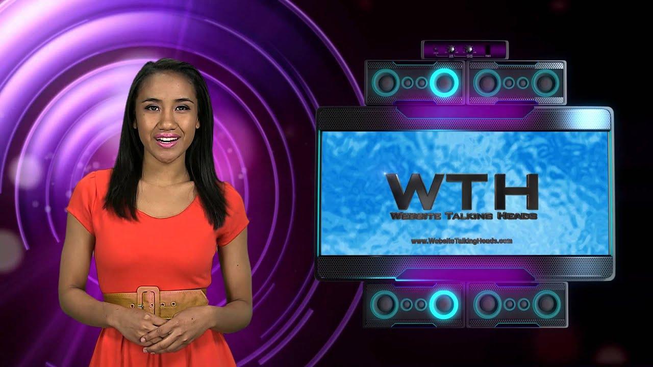 Custom Video Presentation Example - 'Techno Talk'