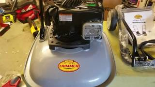 """California Trimmers 19"""" Hover Mower Review and Unboxing (RC190 BG550)"""
