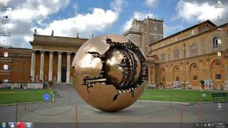 Сфера в Ватикане - что это? К теме - плоская Земля