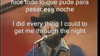Johnny Lee -  Looking for love (subtitulos en ingles y español)