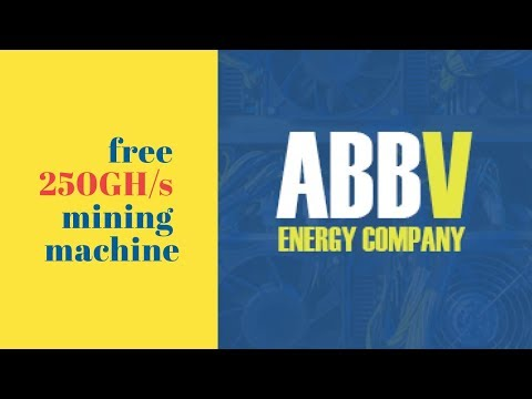 ABBV Energy Company (abbvmining.com) отзывы 2019, обзор, get free 250 GHs mining machine