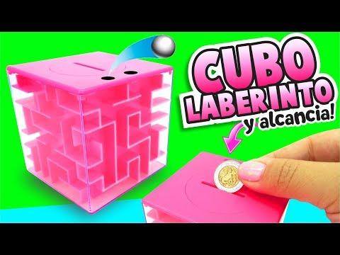 Haz un CUBO MÁGICO - ALCANCÍA y LABERINTO a la vez!  ★ Asi o Más Fácil ★ DIY ★