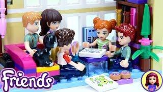 Custom Lego House Family Room & Parent Bedroom - Sophie & Henry