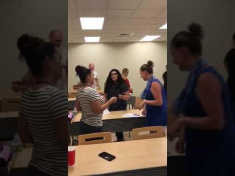 Fun ASL conversations in class!