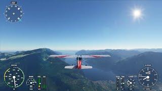Microsoft Flight Simulator - lake Garda, Italy