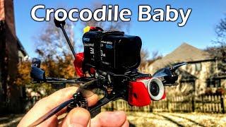 GEPRC Crocodile Baby // Digital Long Range // Micro Long Range Drone