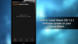 How to install Watch OS 1.0.1 software update on your Apple Watch - iPhone Hacks