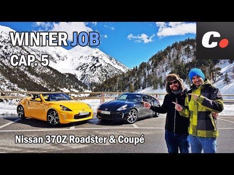 Nissan 370Z   Prueba / Test / Review en español   WINTER JOB Cap.5   coches.net
