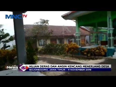 Puting Beliung di Bojonegoro, BPBD Catat 1.378 Rumah Terdampak Kerusakan - LIM 12/11
