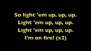 Light 'Em Up Fall Out Boy Lyrics)