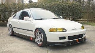 K20 Honda Civic Review! - 8500 RPM