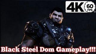 Gears of War 4 : Black Steel Dom Gameplay!!! [4K 60FPS]