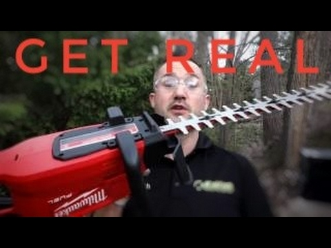 Landscaping Employee Trap Reviews – Milwaukee FUEL M18 Hedge Trimmers vs Stihl HS45
