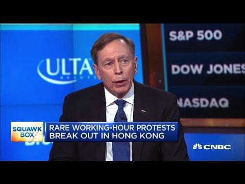 Gen. Petraeus: US, China need a mutually beneficial relationship