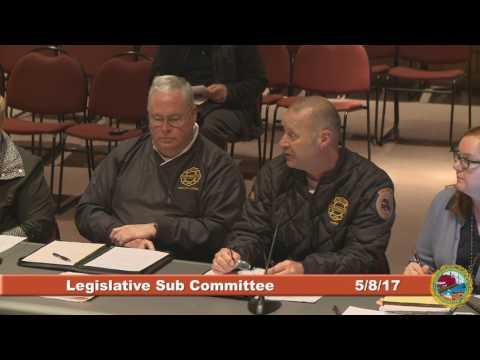 Legislative Sub Committee 5.8.2017