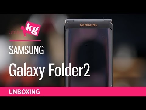 Samsung Galaxy Folder2 Unboxing [4K]