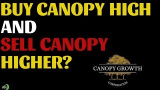 BUY CANOPY GROWTH HIGHER AND SELL HIGHER? (SHOULD YOU DO THIS?)