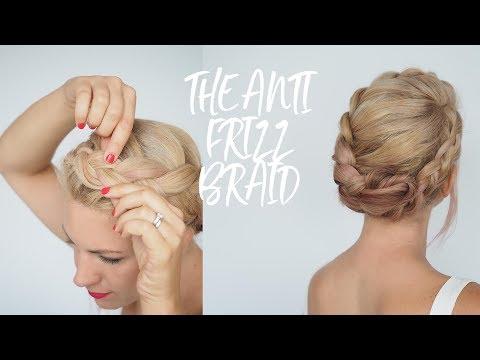 Anti-frizz braid tutorial - humid weather hairstyles