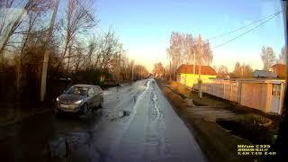 дорога из донского от герцена по улице горняцкая в сторону кимовска