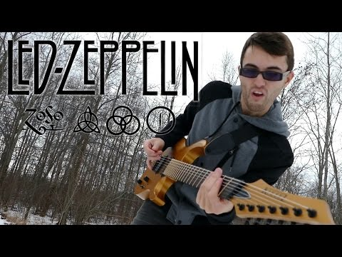 djent zeppelin this is what it sounds like when led zeppelin goes