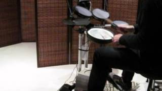 Duran Duran - Hold Me [drum cover]  Roland HD-3
