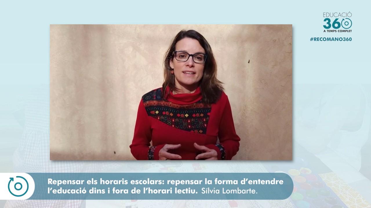 #Recomano360 - Resum 2. Sílvia Lombarte