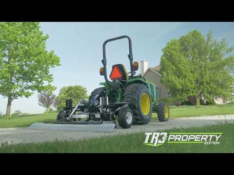 TR3 E Property Edition Tackles Gravel Driveway
