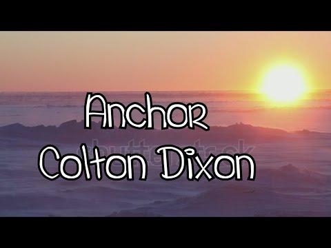 Anchor~ Colton Dixon