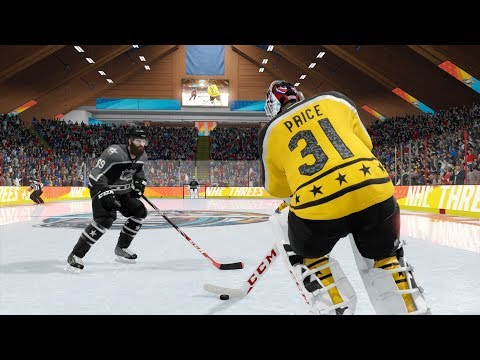 NHL 18 THREES | 2v2 Goalie Lock | Awesome saves, great goals, and a HILARIOUS ending!