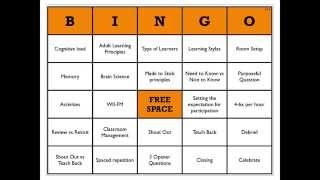 How to Use BINGO in your Classroom