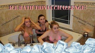 ICE BATH CHALLENGE!! (LOSER GETS HYPOTHERMIA?!)