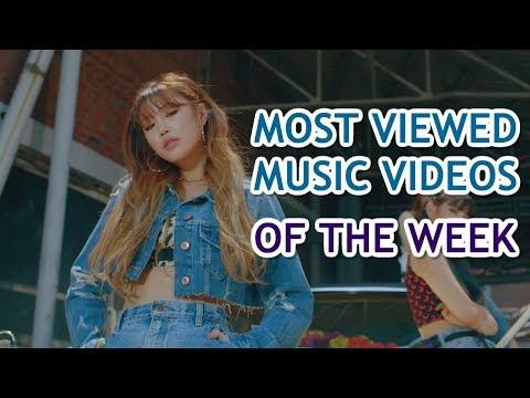 MOST VIEWED K-POP GROUPS MVS OF THE WEEK | JUNE 2019, WEEK 4