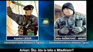 preview picture of video 'Razgovor LEGIJA - ARKAN 1992 o uzaludnim pokušajima da uđu u Sarajevo'