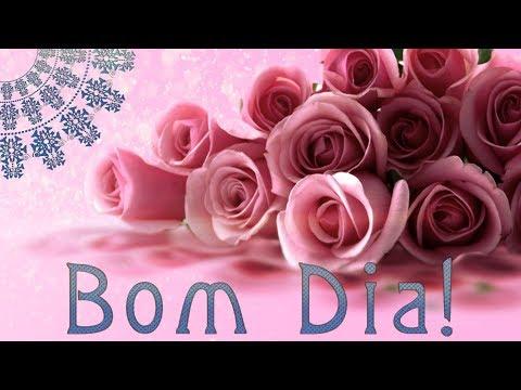 Bom Dia! Buenos Dias! Good Morning!☀️Animação Cartões/Animation Card