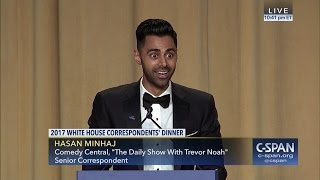 Hasan Minhaj COMPLETE REMARKS at 2017 White House Correspondents