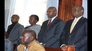 Waziri Henry Rotich, Katibu wake Thugge waachiliwa kwa dhamana ya Sh15 millioni