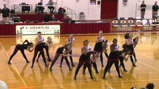 NCC dance team - 3OH!3 My First Kiss ke$ha dance routine 2011 Naperville Illinois Il
