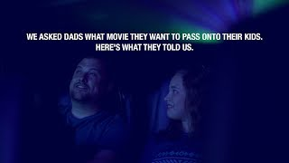 With Fathers Day around the corner were celebrating all the moviewatching memories
