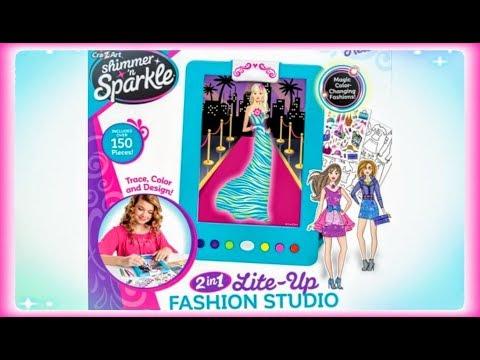 Sparkle lite-up fashion studio kit / review