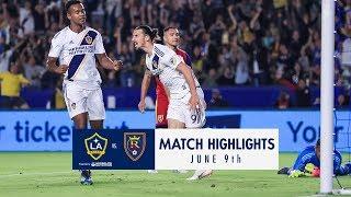 HIGHLIGHTS: LA Galaxy vs. Real Salt Lake | June 9, 2018