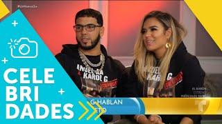 Anuel AA y Karol G hablan sin tapujos de su amor secreto | Un Nuevo Día | Telemundo