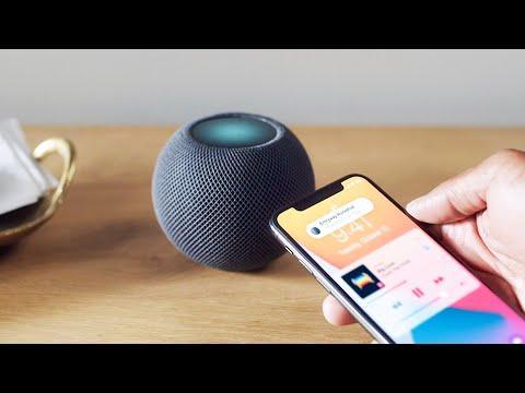 External Review Video Z7wCbezW0wI for Apple HomePod mini Smart Speaker