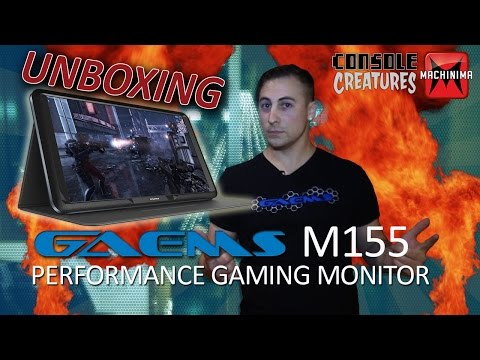 GAEMS M155 155 HD LED Performance Portable Gaming Monitor ...
