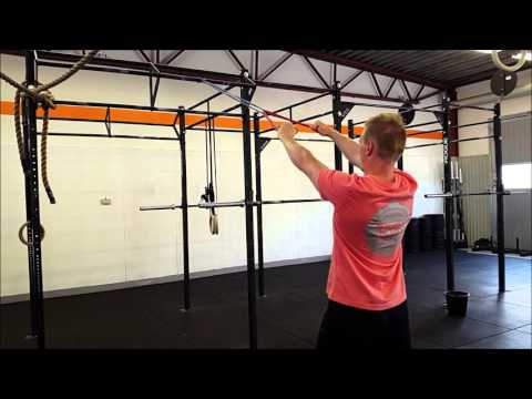 Banded face pulls