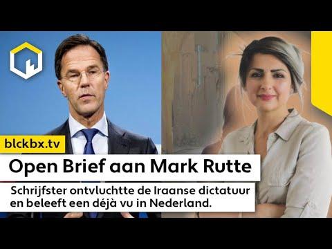 Open Brief aan Mark Rutte, schrijfster herbeleeft Iraanse transitie naar Dictatuur.